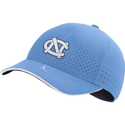 UNC Men's Nike Jordan Brand Sideline Aero L91 Adjustable Hat