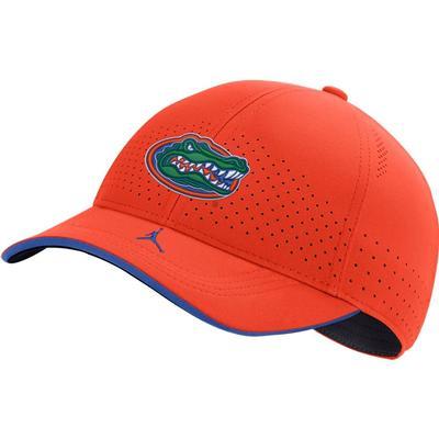 Florida Men's Nike Jordan Brand Sideline Aero C99 Swooshflex Adjustable Hat ORANGE