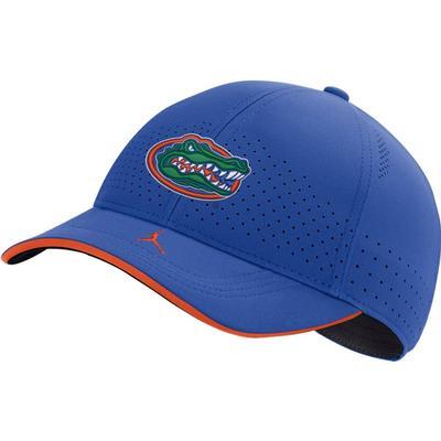 Florida Men's Nike Jordan Brand Sideline Aero C99 Swooshflex Adjustable Hat ROYAL