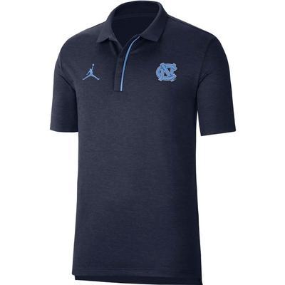 UNC Men's Nike Jordan Brand Sideline Coaches Polo