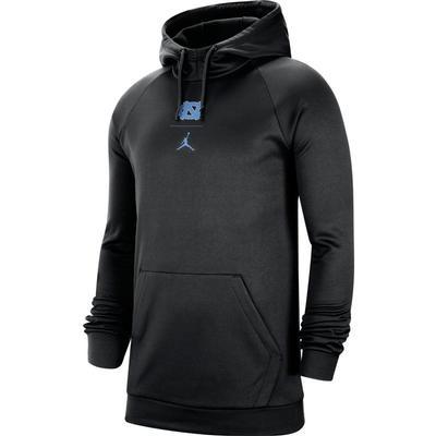 UNC Men's Nike Jordan Brand Practice Fleece Pullover Hoody