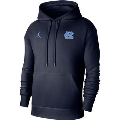 UNC Men's Nike Jordan Brand Flight Fleece Pullover Hoody