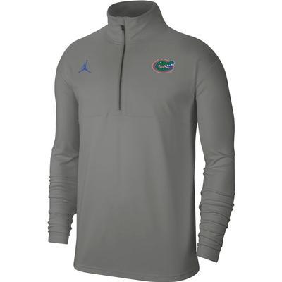 Florida Men's Nike Jordan Brand Coaches Half Zip Pullover