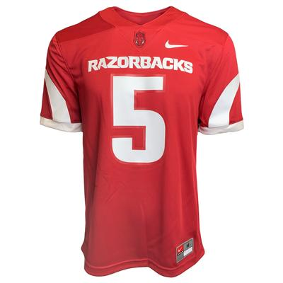 Arkansas Nike Men's Game Jersey
