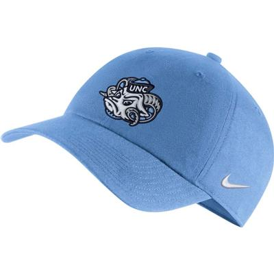 UNC Nike Men's H86 Tar Heel Logo Adjustable Hat