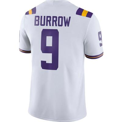 LSU Nike Men's Joe Burrow #9 Replica Jersey