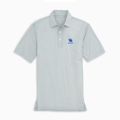 Kentucky Southern Tide Men's Brrr Driver Stripe Polo
