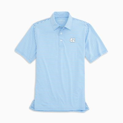 UNC Southern Tide Men's Driver Stripe Polo