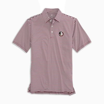 Florida State Southern Tide Men's Driver Stripe Polo