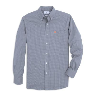 Auburn Southern Tide Men's Gingham Sport Shirt