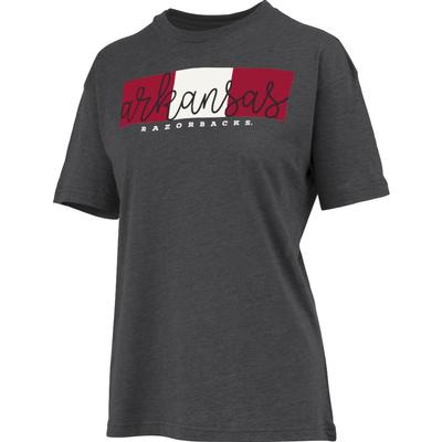 Arkansas Women's Pressbox Amy Melange Tee