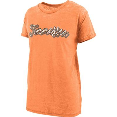 Tennessee Women's Pressbox Go Girl Vintage Wash Short Sleeve Tee