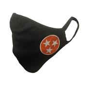 Tennessee Adult Left Tristar Face Mask