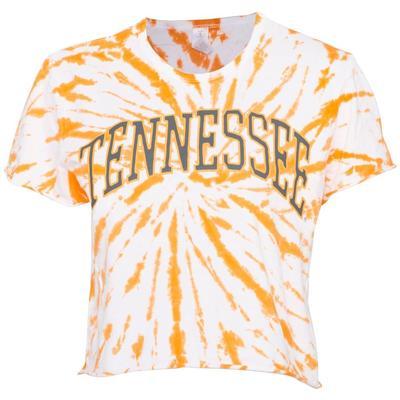 Tennessee Women's Zoozatz Rave Tie Dye Crop Tee