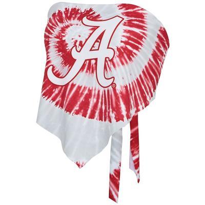 Alabama Women's Zoozatz Tie Dye Bandeau