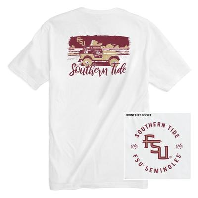 Florida State Southern Tide Women's Collegiate Sunset Drive Tee