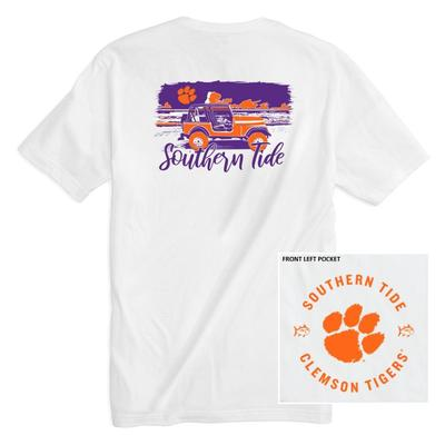 Clemson Southern Tide Women's Collegiate Sunset Drive Tee