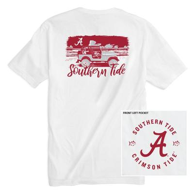 Alabama Southern Tide Women's Collegiate Sunset Drive Tee