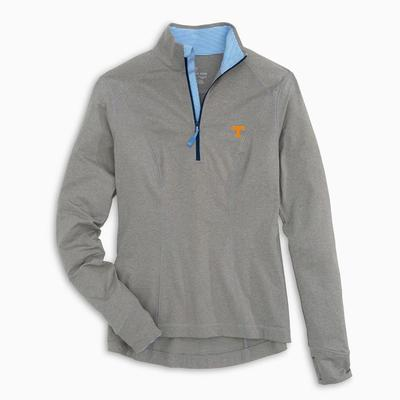 Tennessee Southern Tide Women's Skipjack Athletic 1/4 Zip Pullover