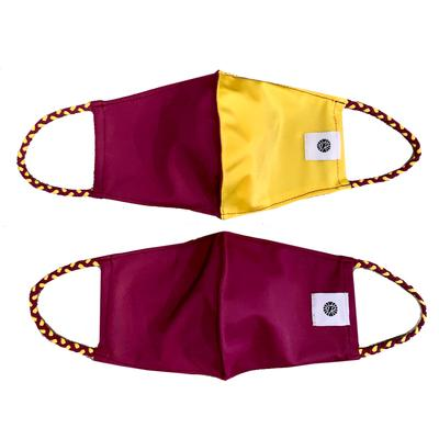 Solid Garnet And Garnet Gold Pomchies Face Mask (2 Pack)