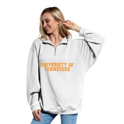 Tennessee Chicka-D Women's Everybody Stacked College 1/4 Zip Pullover