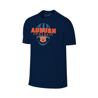 Auburn Men's Football Vertical Ball Tee