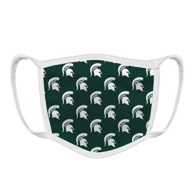 Michigan State YOUTH Spartan Logo Face Mask