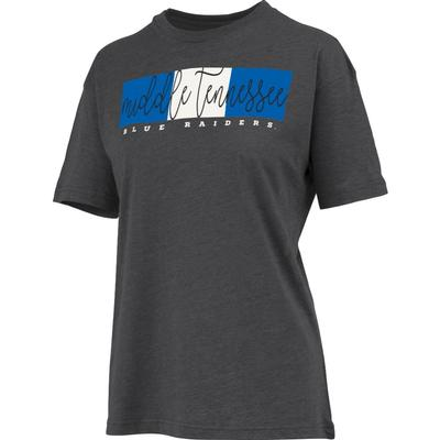 MTSU Women's Pressbox Amy Melange Tee