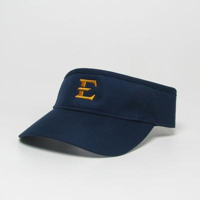 ETSU Legacy Men's E Logo Cool Fit Visor