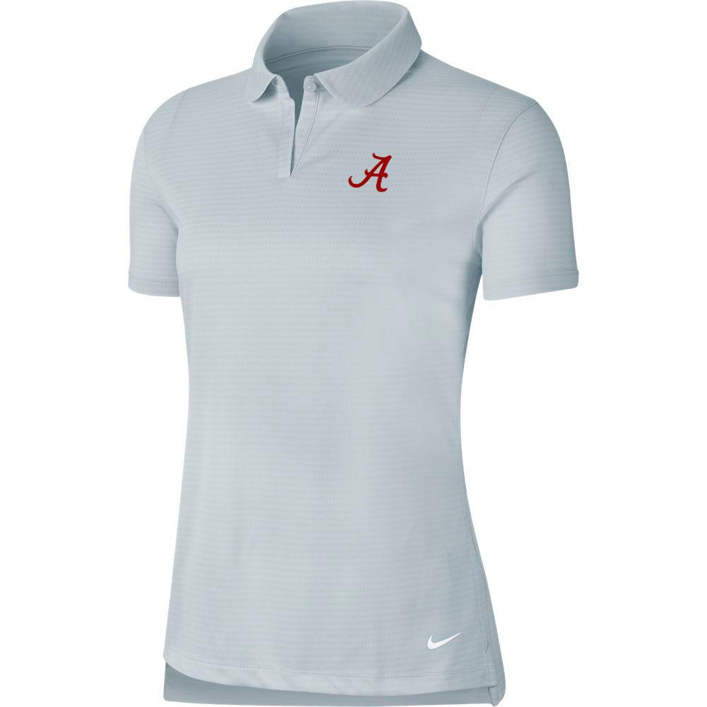 Alabama Nike Golf Women's Victory Texture Script A Polo