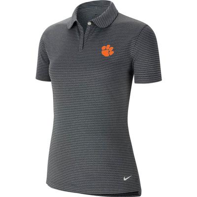 Clemson Nike Golf Women's Victory Texture Paw Logo Polo