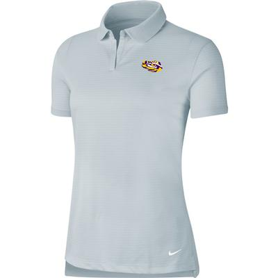 LSU Nike Golf Women's Victory Texture Tiger Head Polo