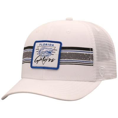 Florida Top of the World Retro Patch Striped Adjustable Mesh Hat