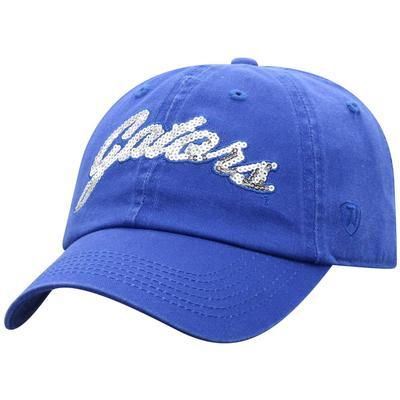 Florida Top of the World Women's Sequin Script Adjustable Hat