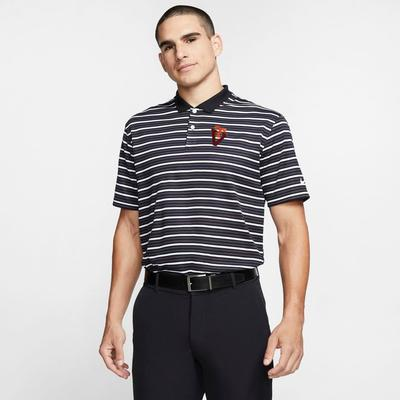 Virginia Tech Nike Golf Vault Men's Victory Stripe Polo