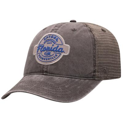 Florida Top of the World Ominous Grey Trucker Hat