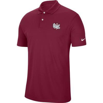 Alabama Nike Golf Vault Men's Victory Solid Polo CRIMSON