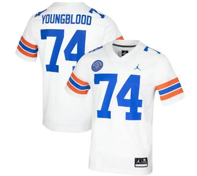 Florida Jordan Brand Jack Younblood Official Ring of Honor Replica Jersey
