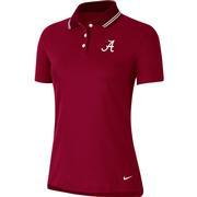 Alabama Nike Golf Women's Victory Solid Script A Polo