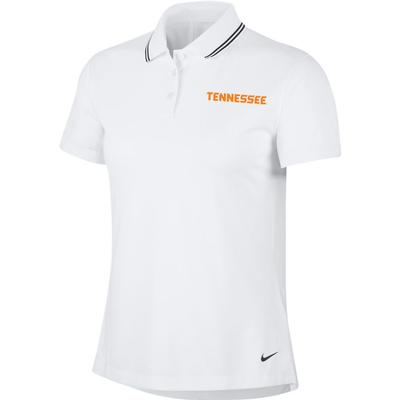 Tennessee Nike Golf Women's Victory Solid Tennessee Polo