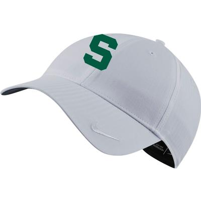 Michigan State Nike Golf Women's H86 Block S Adjustable Hat