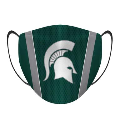 Michigan State Rock Em Jersey Logo Face Mask