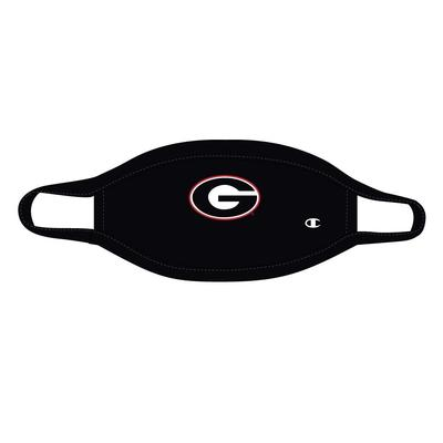 Georgia YOUTH Champion Logo Face Mask