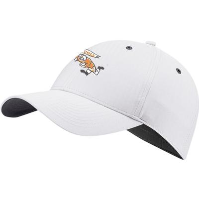 Tennessee Nike Golf Men's Vault L91 Running Player Tech Adjustable Hat WHITE