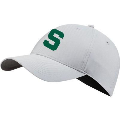 Michigan State Nike Golf Men's Vault L91 Block S Tech Adjustable Hat