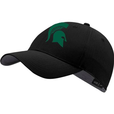 Michigan State Nike Golf Men's L91 Spartan Tech Adjustable Hat