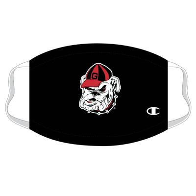Georgia Champion Logo Face Mask