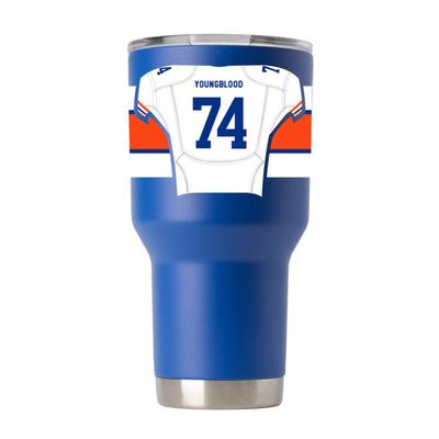 Florida GTL Ring Of Honor 30 Oz Jack Youngblood Tumbler