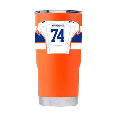 Florida GTL Ring Of Honor 20 Oz Jack Youngblood Tumbler