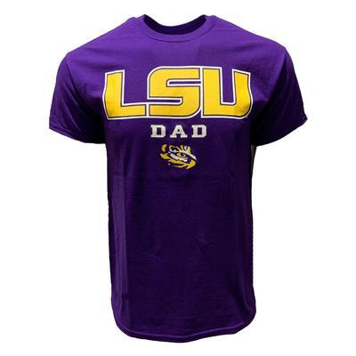 LSU Bayou Apparel Short Sleeve Dad T-Shirt